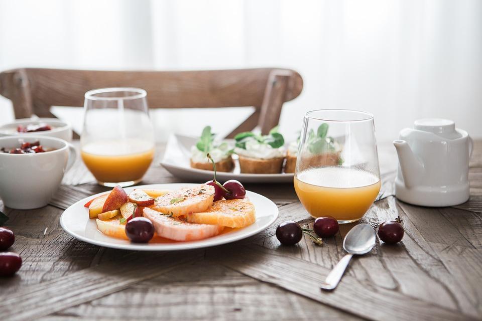 Gesundes leckeres Essen Frühstück